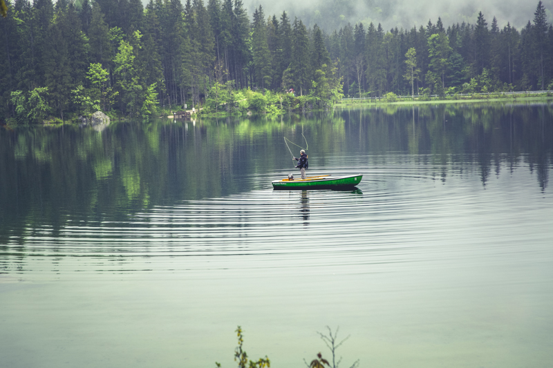 Boot zum Angeln