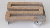 Jaeger-Sparbrand aus Edelstahl V2A, bis 20 Stunden Kaltrauch, Kaltraucherzeuger, Cold Smoke Generator, Food Smoker, Meet Smoker, für Grills, BBQ, Räucheröfen, Made in Germany,