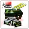 Knicklichter DAM - 100-er Packung - Farbe Rot - Standard 4,5 x 39 mm