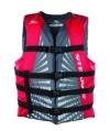 Stearns Erwachsene Schwimmweste Bekleidung, grau/rot